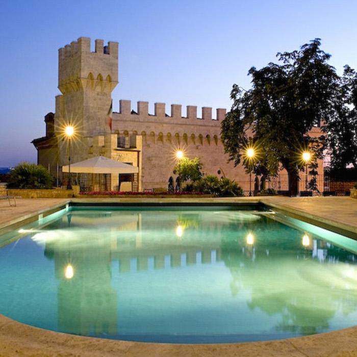 Castello da fiaba nel cuore della toscana - Hotel con piscina toscana ...